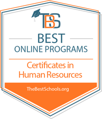 TBS Best Online Programs - Certificates in Human Resources - TheBestSchools.org